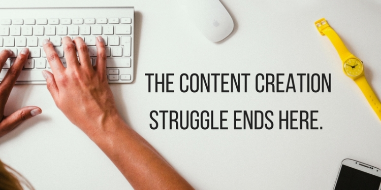 The content creation struggle ends here.